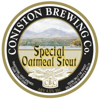 Coniston Brewing Co - Special Oatmeal Stout