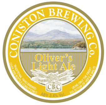 Coniston Brewing Co - Olivers Light Ale