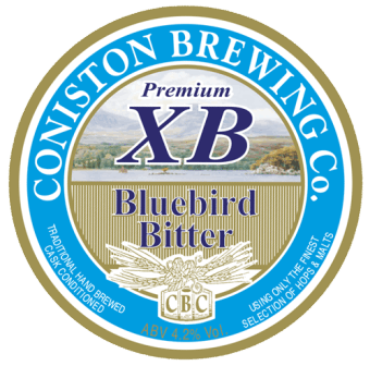 Coniston Brewing Co - Premium XB Bluebird bitter